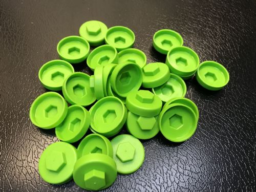 1000no. Linden Green 19mm Colour Cap (Push On Colour Cap)
